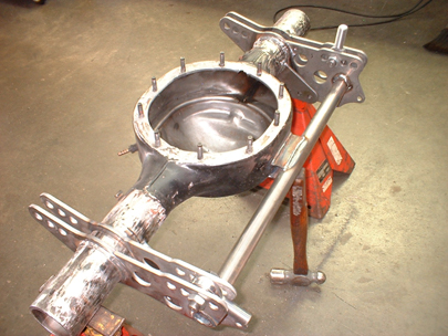Narrowed Axle Housing