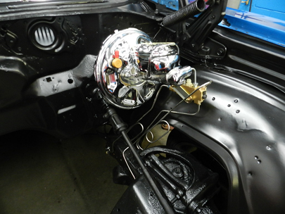 Master Cylinder and Booster