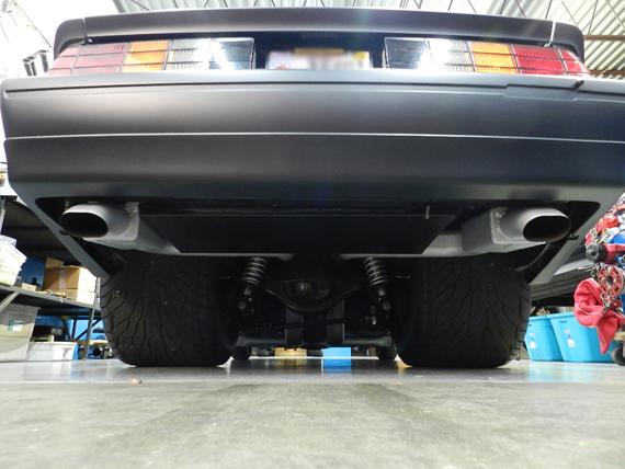 RCS Chassis Fabrication - Custom under car hood